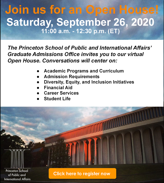 Our students often say someone encouraged them to apply to @PrincetonSPIA. Do you know a great future SPIA student? Invite them to our #openhouse! @ppiaprogram @apsiainfo #gradschool #phdchat   Register ➡️ https://t.co/1G74MzPKfJ https://t.co/YYIlhV0SHl