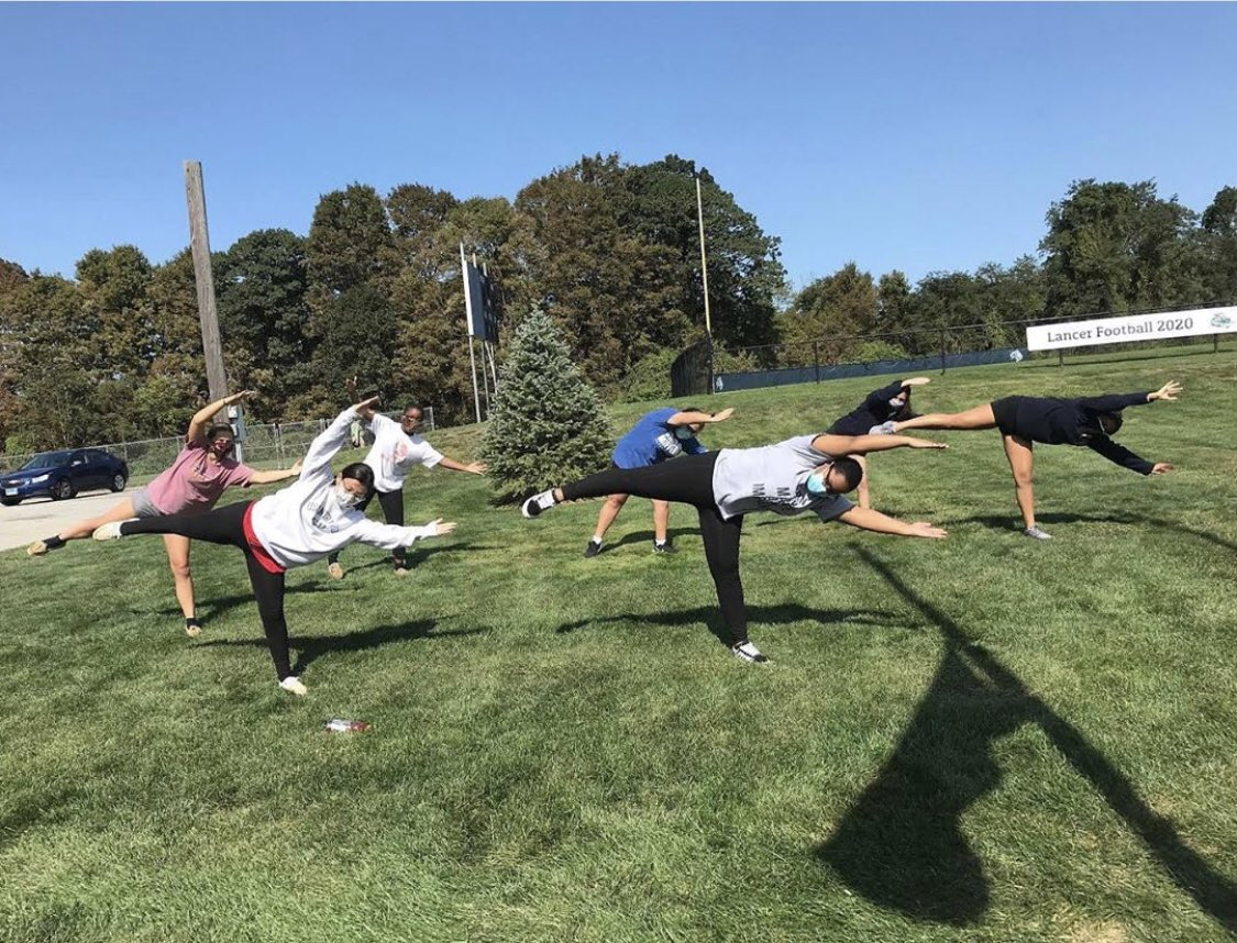 test Twitter Media - What a beautiful day for dance class outside at @NDFFLD! @Diobpt @BptSup #WednesdayVibes https://t.co/7dVpUAkLXi