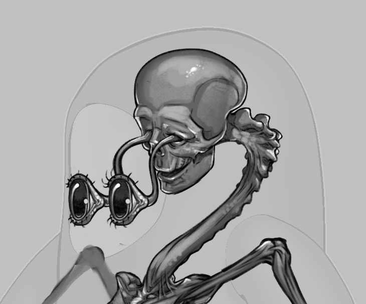 FallGuysファンのみなさま、「人体で表す動物図鑑」シリーズをぜひどうぞ😂😂😂  この骨格図に反応した方はきっとお好きだと思います!  カメの甲羅はあばら骨 https://t.co/gQErnJigZu サメのアゴは飛び出し式 https://t.co/CMhnZRFHjG  #fallguys #カメの甲羅はあばら骨 #サメのアゴは飛び出し式