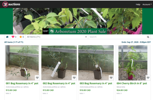Online Auction Replaces Annual @uogarboretum Plant Sale 🪴🌻🌲  The beloved annual Arboretum plant sale has gone virtual! The online auction runs until Sunday, Sept. 27 at 9 p.m.!  Check it out: https://t.co/0LR5WNBNlt https://t.co/BL5EGqnf2M