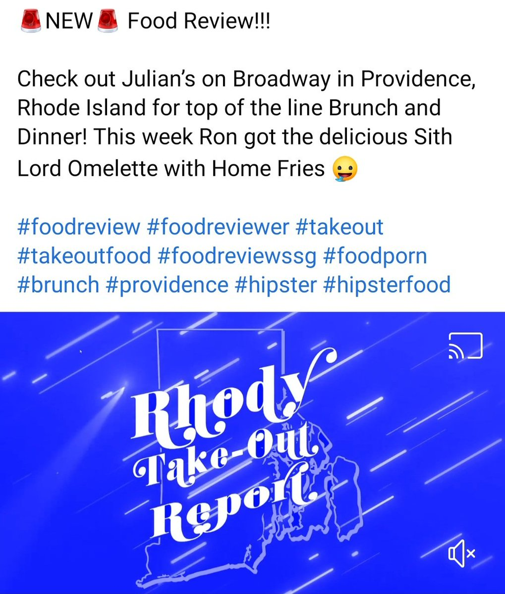 🚨NEW🚨 Food Review! Check out @julianspvd... Watch the Rhody Take-out Report here: https://t.co/uwSoJk0zDU  #foodreview #foodreviewer #takeout #takeoutfood #foodreviewssg #foodporn #brunch #providence #hipster #hipsterfood https://t.co/8GujYN3Kqh