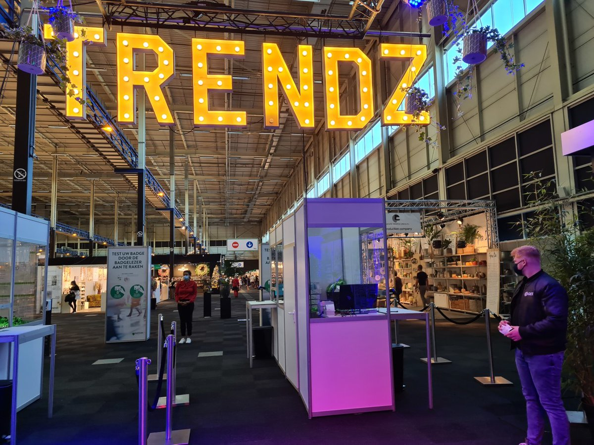 Congratulations to the team for executing a safe and successful registration experience with VISIT technology at Trends Najaar in the Netherlands. Awesome job! #REfocusREinventREconnectGES #liveevents #GESAlwaysOnHealthandSafety https://t.co/l5j0P8xQz1