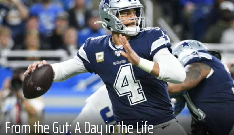 Latest FROM THE GUT - NFL on @FantasyGuruSite!  Discussing my daily routine during football season, NFFC/FFPC waiver priorities and how to stay one step ahead of your league-mates in the high stakes sphere.  https://t.co/JsfPO9GUwo https://t.co/rq6YPwTIng