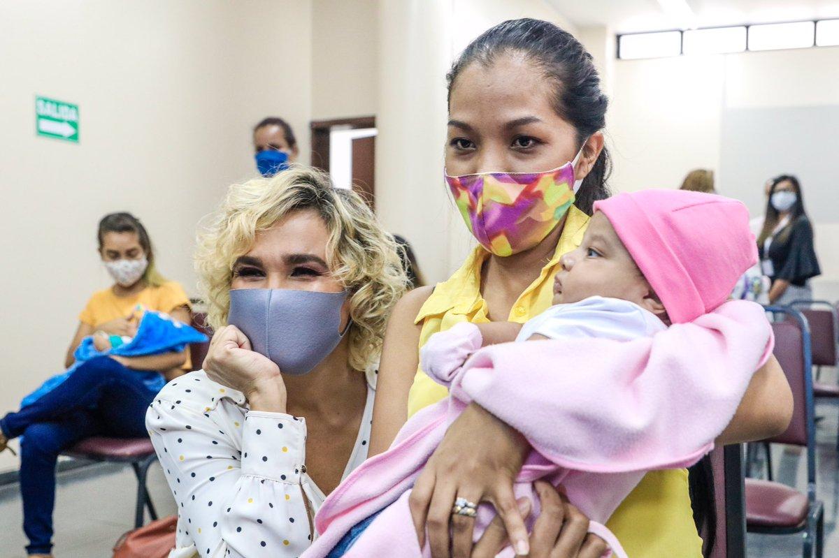 A través del convenio firmado con la Asociación Pro Bienestar de la Familia Ecuatoriana (APROFE), ofrecemos atención diaria a mujeres embarazadas de escasos recursos para que puedan dar a luz sin preocupaciones y en un ambiente libre de Covid-19. https://t.co/tocwCYB5Qu