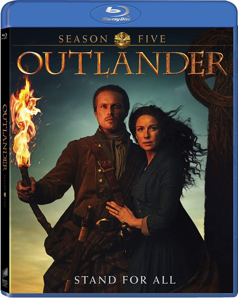 New #contest!   RT + FOLLOW us to #win #Outlander season 5 on Blu-ray! https://t.co/a5JRQeBlJy