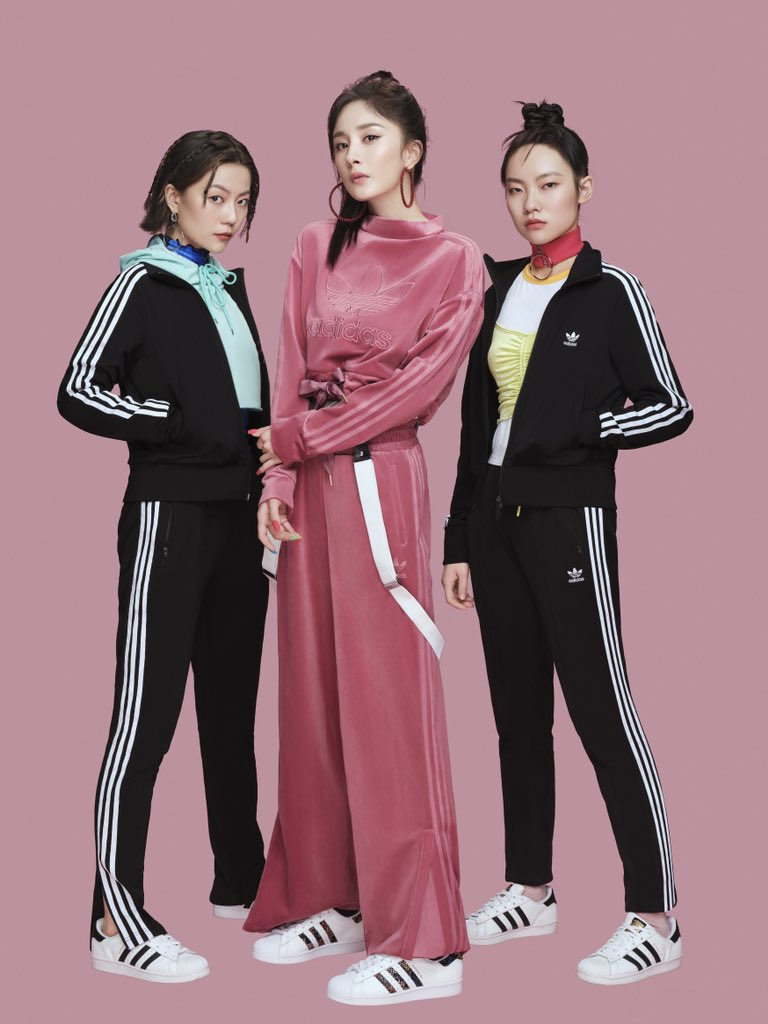 Yang Mi for Adidas Originals F/W Superstar 2020.  #YangMi #杨幂 https://t.co/5UyEPAYmXs
