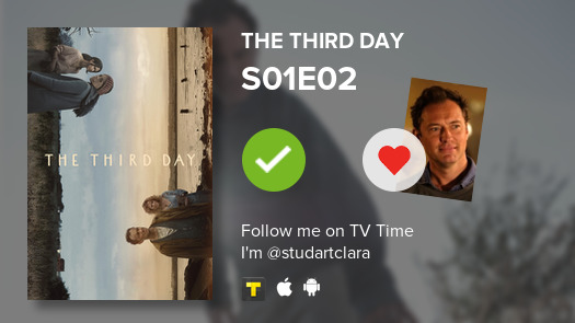 I've just watched episode S01E02 of The Third Day! #thirdday  #tvtime https://t.co/R8NxuVpKH9 https://t.co/IYmDOOkK5n