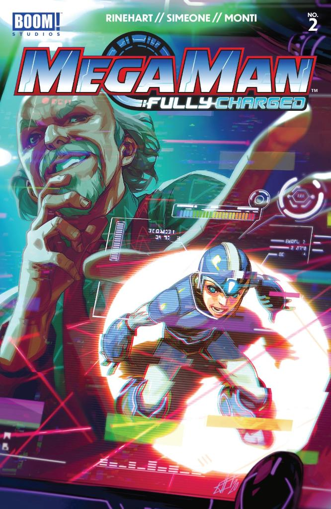 Mega Man's search for information brings him to Dr. Wily, a scientist who may hold the secrets to the hero's mysterious past! https://t.co/QWbB9iypqa  W: #AJMarchisello, #MarcusRinehart A: @stefano_simeone C: @igormontiart L: @eDukeDW E: @MattLevine88 https://t.co/QRAVmDzdfm