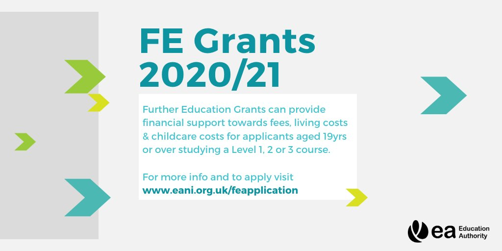 The final countdown is on with only one week to go until the Further Education Grants scheme closes on the 30th September. You must be aged 19 or over on 1 July 2020 and studying a FE course Level 1,2 or 3. To find out more https://t.co/AWf0nmpRR1 #FEGrants https://t.co/QTU3tPasnj