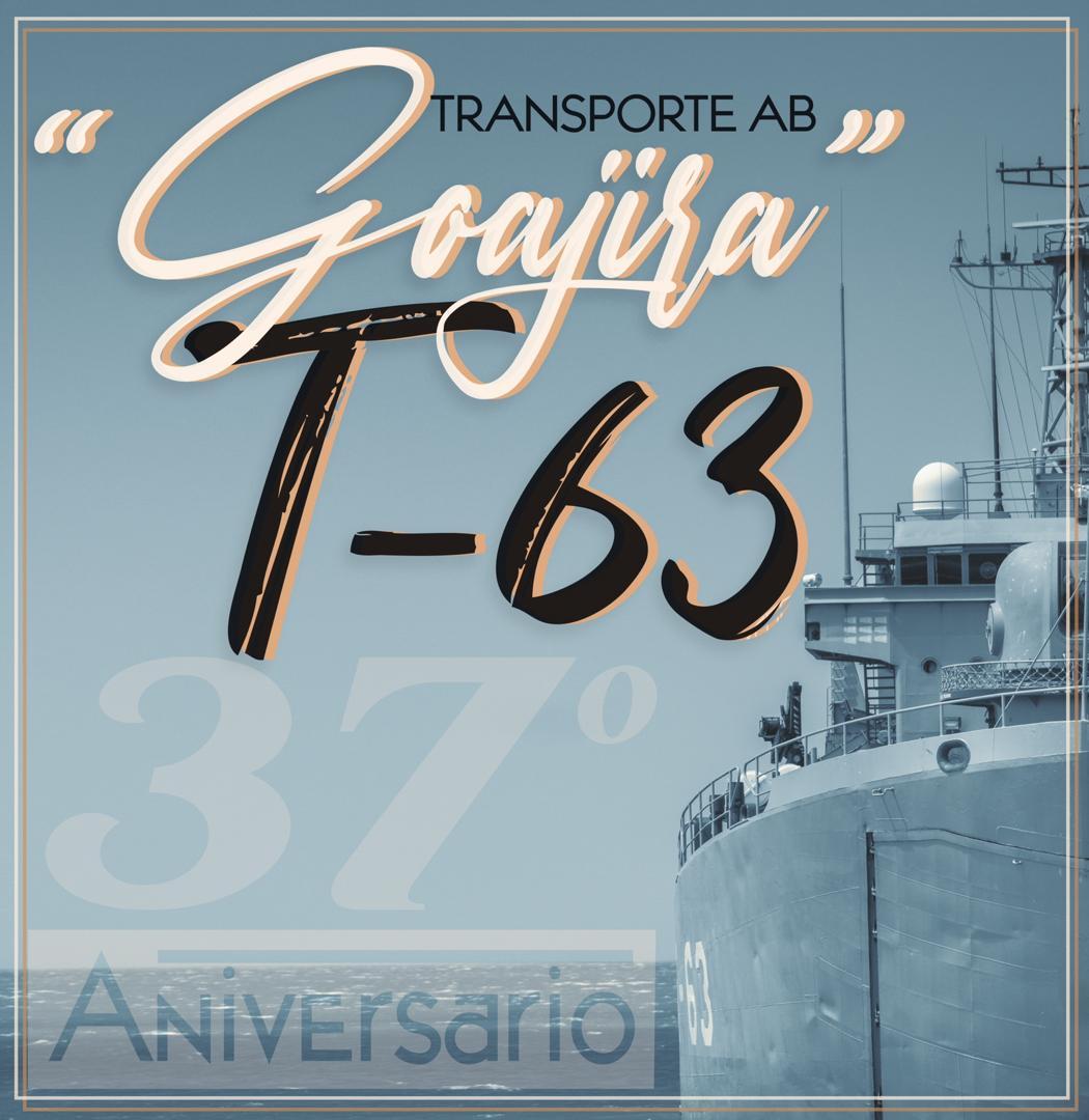 #Aniversario #Hoy #23Sep la @zodimainat felicita a la tripulación del @AB_GoajiraT63 por arribar a 37 años garantizando la Defensa Integral de la Nación y resguardando la #VenezuelaAzul. #MaduroNuestraVozEnLaONU #FANB #FelizMiercoles https://t.co/keppFo2rA4