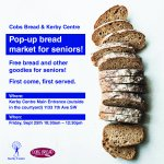 Cobs Bread and Kerby Centre are partnering on a pop-up bread market for seniors! Friday September 25 at Kerby Centre!  @EWoolleyWard8 @DowntownWestYYC @joececiyyc @PonJosephine