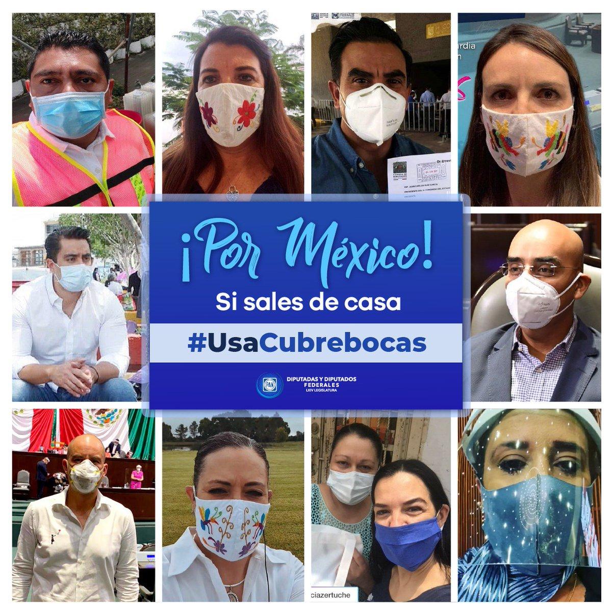 No podemos bajar la guardia. La pandemia sigue siendo una crisis sanitaria mal atendida y minimizada por el @GobiernoMx.  Seamos responsables y cuidémonos, juntos saldremos adelante. #UsaCubrebocas https://t.co/IEfr209BzF