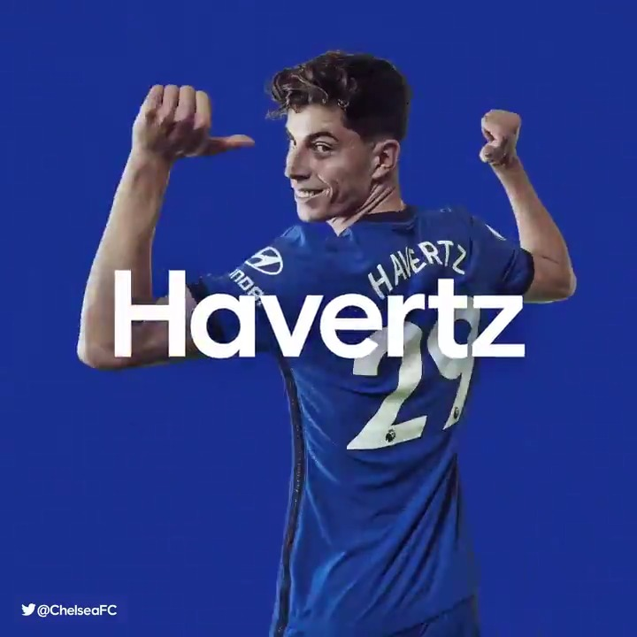 HAVERTZ MAKES IT 1-0! 🔥  🔵 1-0 🍬 [32'] #CHEEVE https://t.co/J8FkgJiLCJ