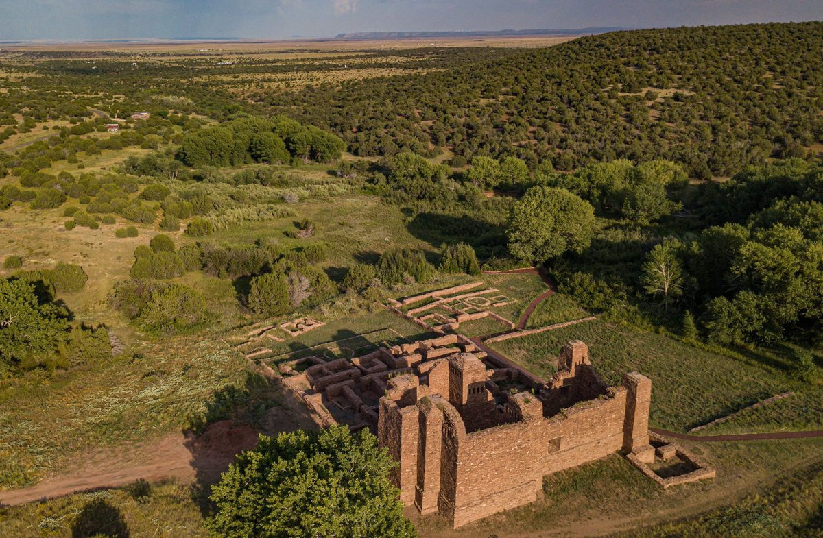 Explore the Quarai Mission Ruins site of the Salinas Pueblo Missions National Monument from home in TRUE 360! Click and drag the screen for different views and angles throughout the video! #NewMexicoTrue 📺 : https://t.co/otCBUZH8Ro https://t.co/DvraOTgrvM