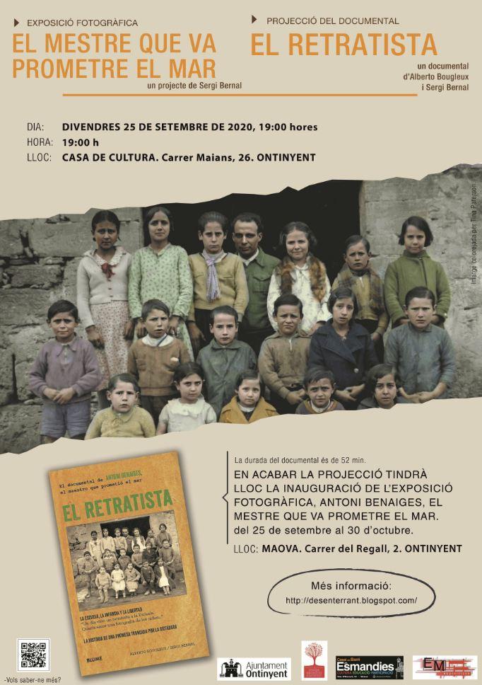 Divendres 25 serem a #Ontinyent #DesenterrantElSilenci amb @Sergi_Bernal. Hi esteu tots convidats.#memòriahistòrica #PaísValencià https://t.co/pISjZUH8a3