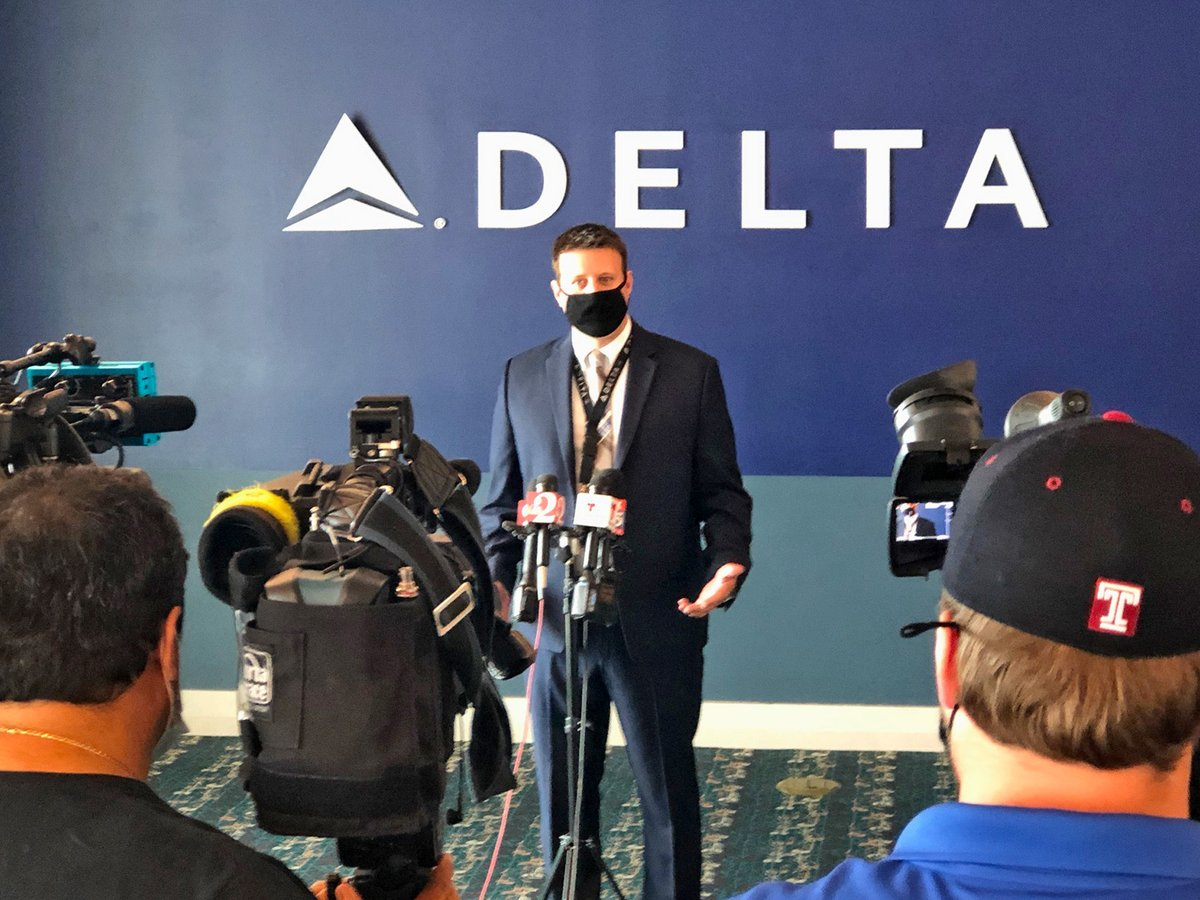 Not only our airport stepped up its cleaning process, so have a number of airlines including @Delta. Yesterday, a media event was held to show which steps the airline is taking with their services, keeping cleanliness and safety top of mind. 👉 https://t.co/eGXLEFmZlC https://t.co/fsJJG04Tee