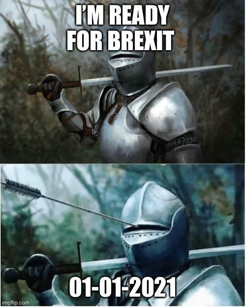 I'm ready for Brexit #LetUsBeHeard #PeoplesVote #Revoke50 #FBPE #StopBrexit #Remain https://t.co/LuR0iFPTpA