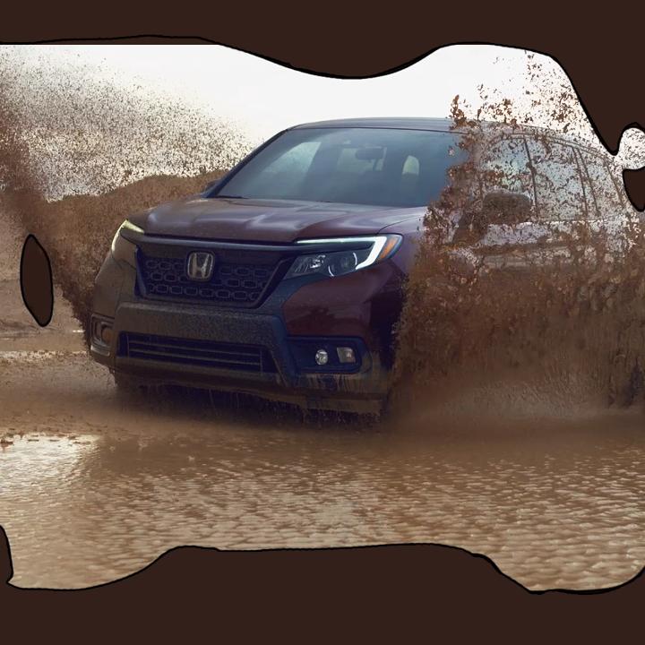 Image for the Tweet beginning: Mud ✅  Snow ✅  Honda