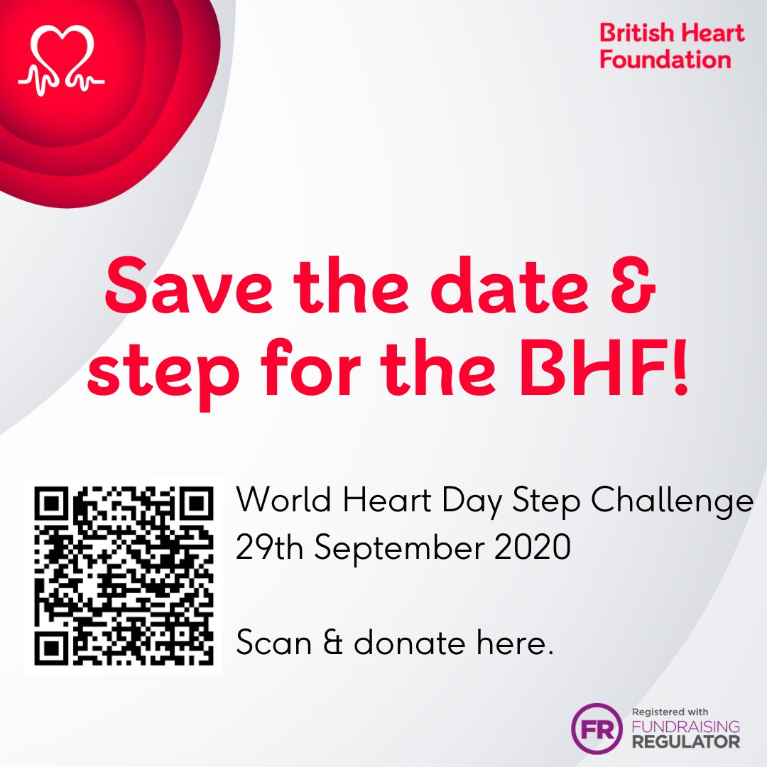 To celebrate World Heart Day, Active Leeds and British Heart Foundation bring you The City Step Challenge and encourage you to count your steps. Read the new #GetSetLeeds blog piece to find out how to enter the competition and what prizes you can win: https://t.co/i8rrZkanVp https://t.co/dlP3WY3CeN
