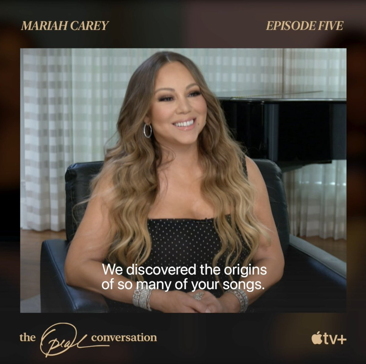 Trauma, triumph, and tough times, the icon herself, @MariahCarey joins @Oprah for an episode of #TheOprahConversation you don't want to miss.   Watch the full episode tomorrow, only on Apple TV+. https://t.co/Gt1WPZe5Zr