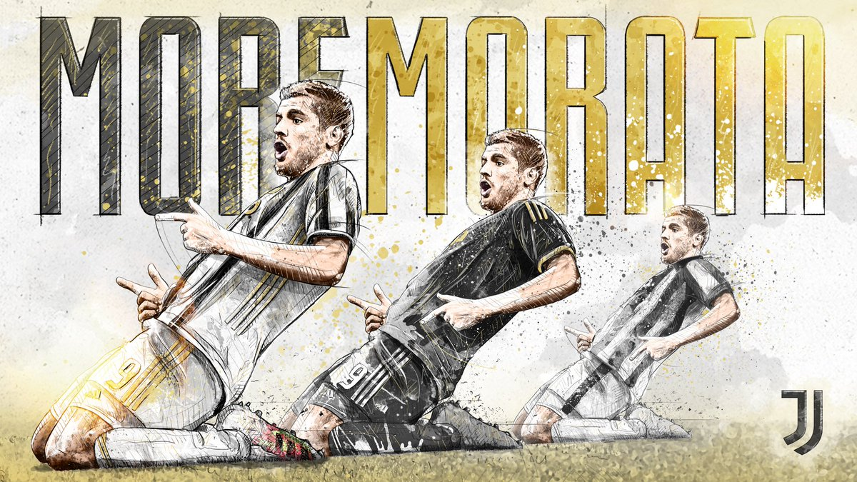 More moments of magic! ✨ Insieme ⚪️⚫️  #MoreMorata #LiveAhead https://t.co/VvENII9Yn2