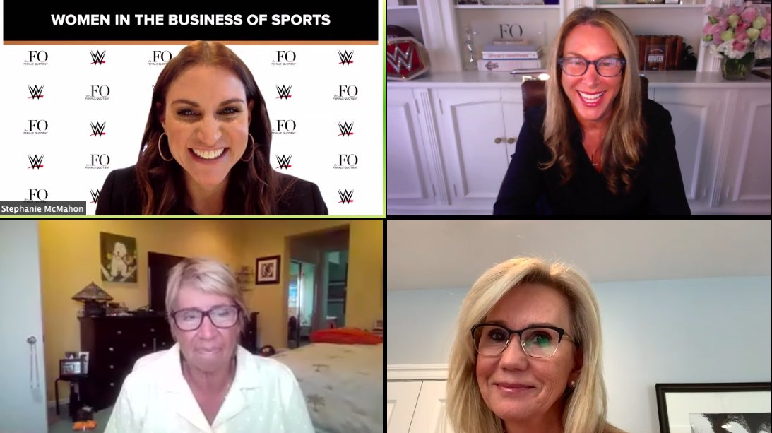 We're live with Women In the Business of Sports! Tune in with @StephMcMahon, @ShelleyZalis, @MickyLawler of @WTA and tennis legend #RosieCasals: https://t.co/i7sBr32238 https://t.co/Eo4ytVgAOO