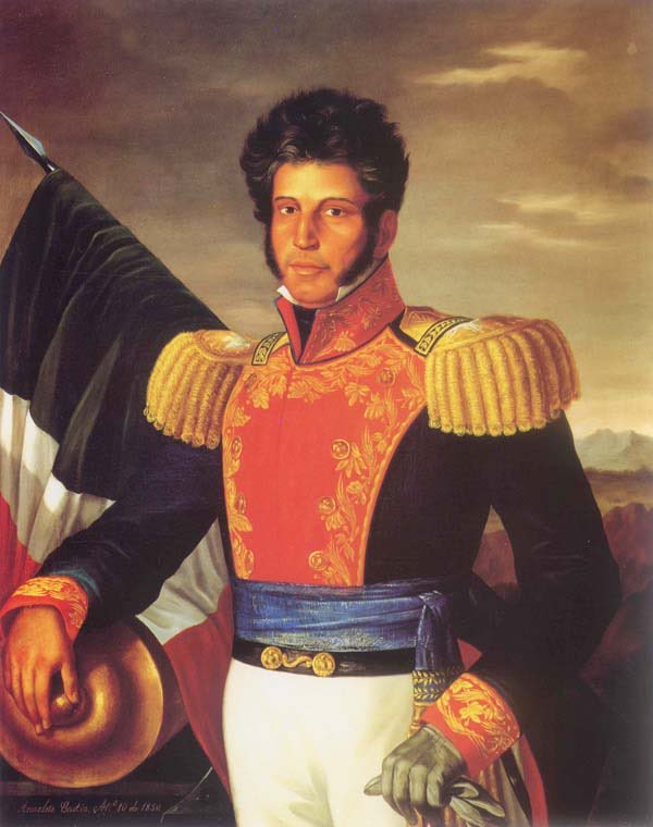 Hispanic Heritage Day 7: Vicente Ramón Guerrero Saldaña was one of the leading revolutionary generals of the Mexican War of Independence. He fought against Spain for independence in the early 19th century, and later served as President of Mexico. @BogotaPublic #HispanicHeritage https://t.co/IwAXAnxPcM