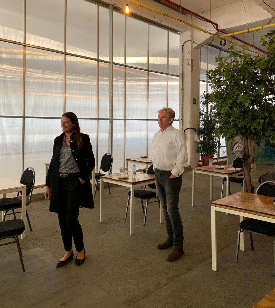 """Thanks to @CSquare_comm our team learned new valuable tips and tricks from @FMuls en @JanVdCruysse this afternoon during the training session """"how to pitch a journalist"""" #communication #training https://t.co/JS1bj5zKad"""