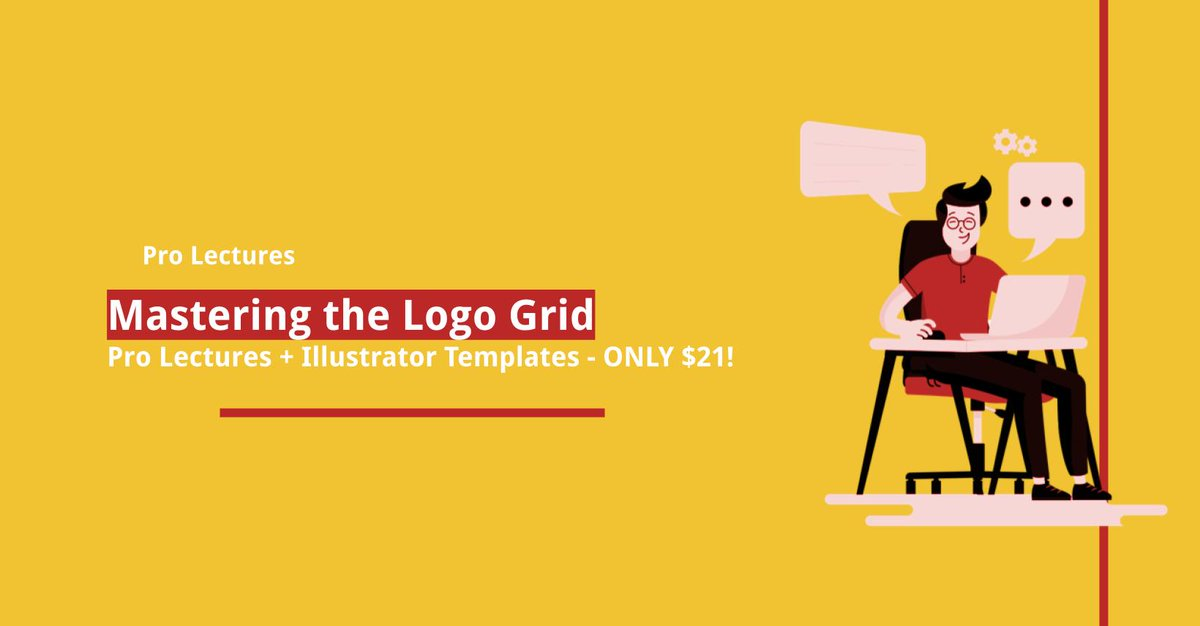 level-up your logo #design #skills #Mastering the Logo Grid: Pro #Lectures + #Illustrator Templates - only $21!  https://t.co/FvOZmt8QYM  #freelance #workingfromhome https://t.co/bmhYTFbrdg