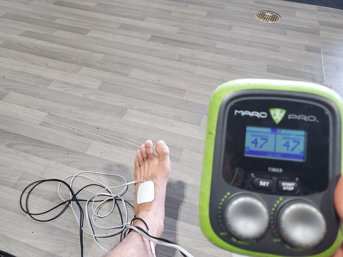 足首の治療🦶 リカバリールームもジムに完備、トレーナーやドクターも常駐していていつでもケアを受けられます!💯  @MmaSanford https://t.co/dfmtGT1gQG