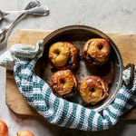 Image for the Tweet beginning: Delicious baked apples topped with