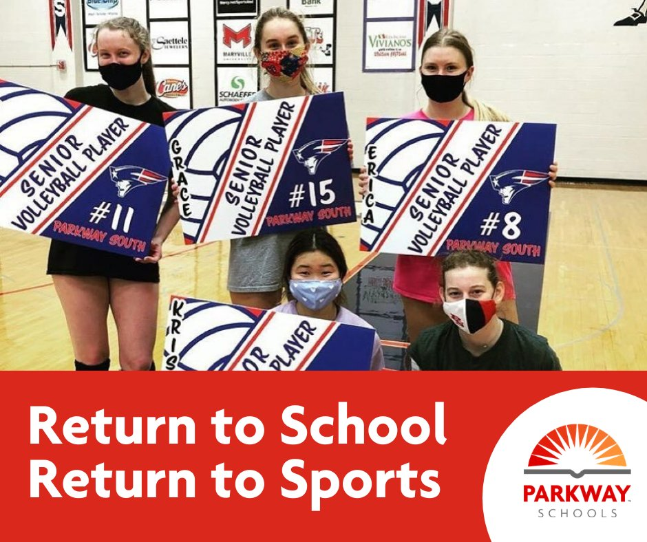 Important update on returning to school and sports ➡️➡️parkwayschools.net/returntolearn