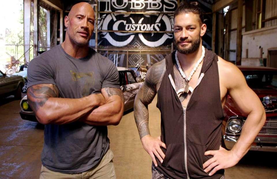 #TheRock quiere enfrentarse a #RomanReigns en #WrestleMania  Fallece #RoadWarriorAnimal #verWWEonline https://t.co/WxiqICM1Du https://t.co/uXoKKLj4k6