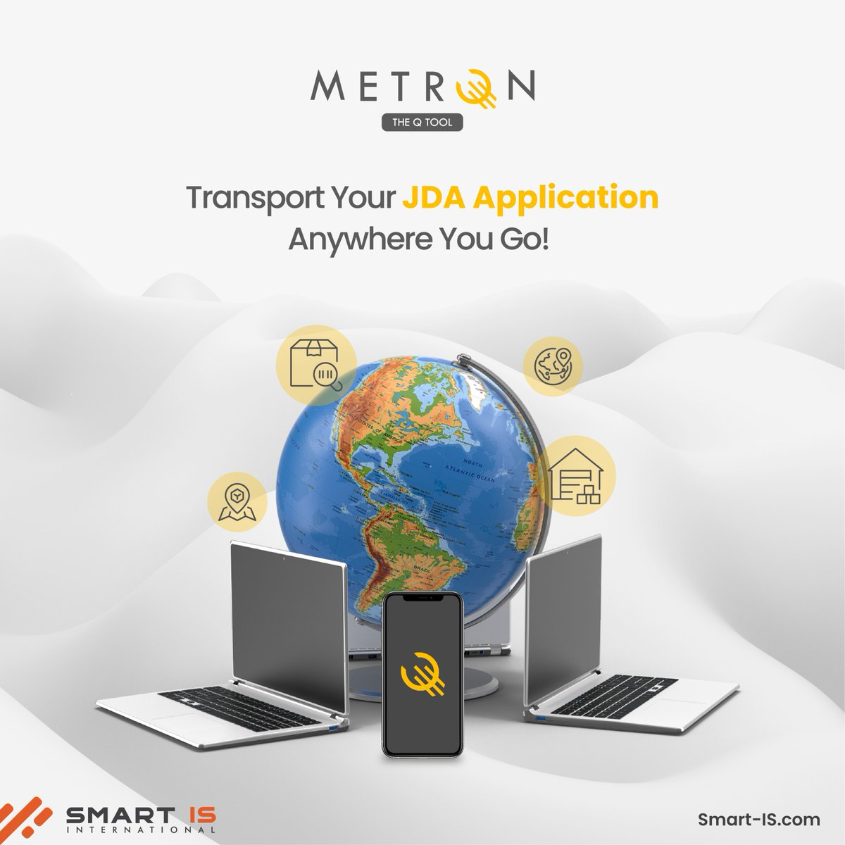 Metron is a Q-tool that allows you to transport your JDA application anywhere you go.    #MetronTheQTool #WMS #Business #B2B #BlueYonder #JDA #WarehouseManagement #SupplyChain #AppDev https://t.co/QcmKjyUcER