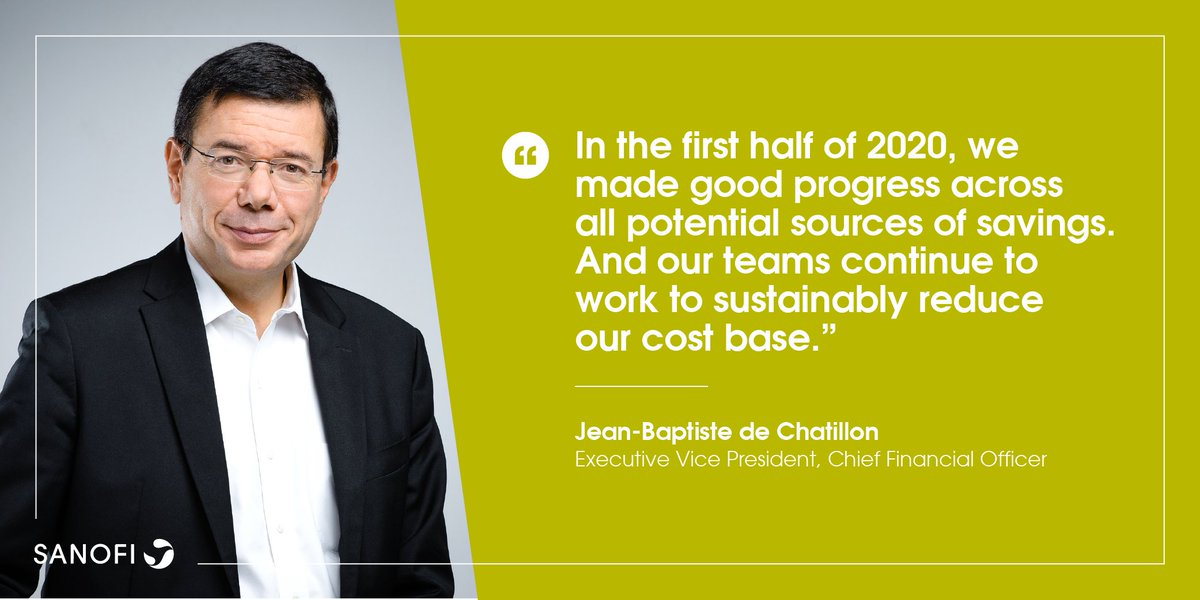Jean-Baptiste de Chatillon, Sanofi's Chief Financial Officer, highlights Sanofi's progress on cost cutting, at the Bernstein Annual Strategic Decisions CEO Conference. https://t.co/IOb4GR41sq