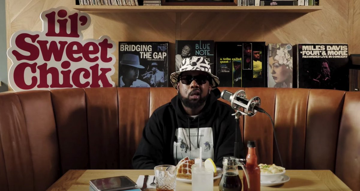 .@WHOISCONWAY performs at diner in Queens for @NPR Tiny Desk Concert  ⏩ WATCH: https://t.co/PpYDoerJVE https://t.co/gOqVxtIOUq
