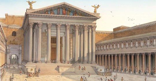 Augusto realizó una renovación completa de Roma, construyendo y restaurando gran cantidad de edificios de la ciudad y, sobre todo, devolviendo a Roma la moral y la rectitud que se había perdido en la tardorrepública. https://t.co/YKVquAnK1O