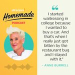 Image for the Tweet beginning: This week on Homemade, @chefanneburrell