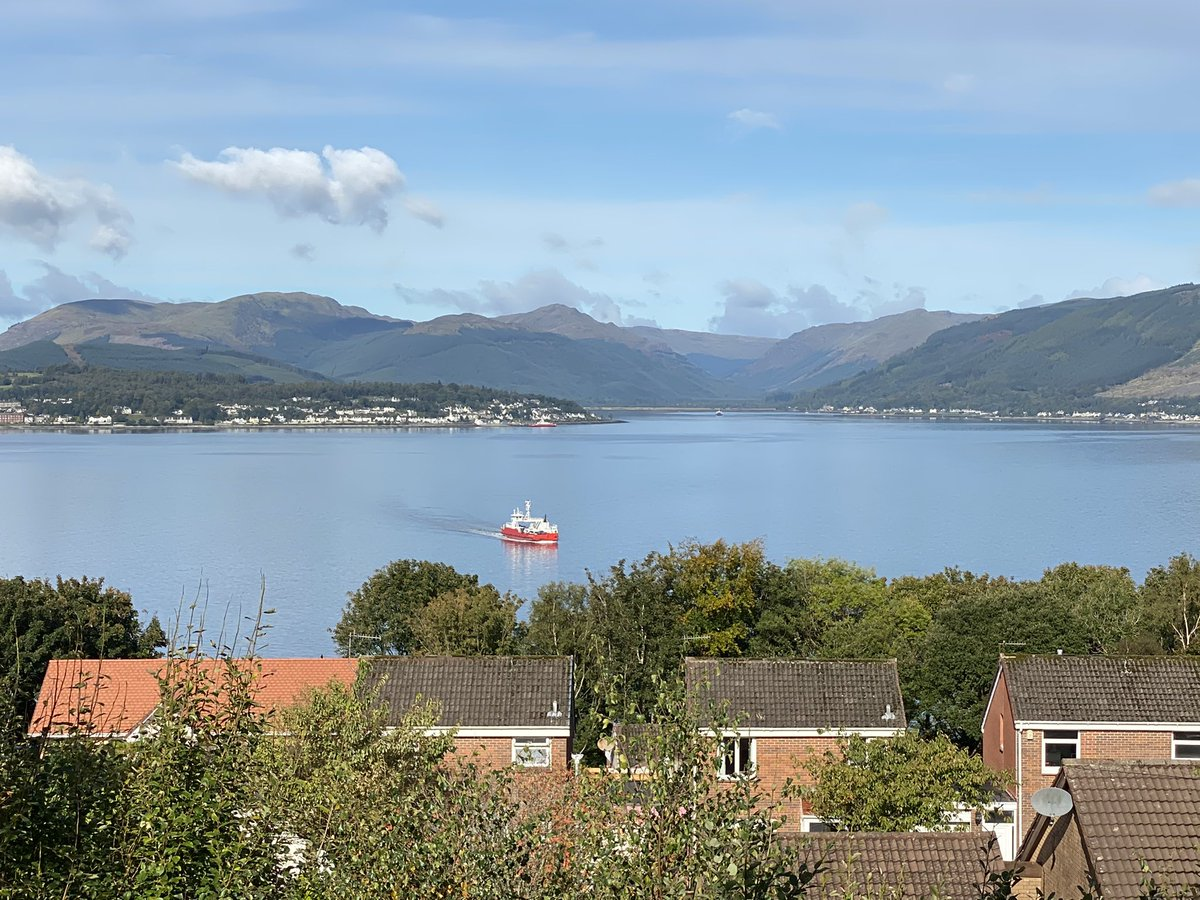 @Western_Ferries sailing majestically into Gourock @discinverclyde @GourockOL #Scotland #discoverScotland #ScottishTourism #BonnyScotland https://t.co/IsufdkYPK0