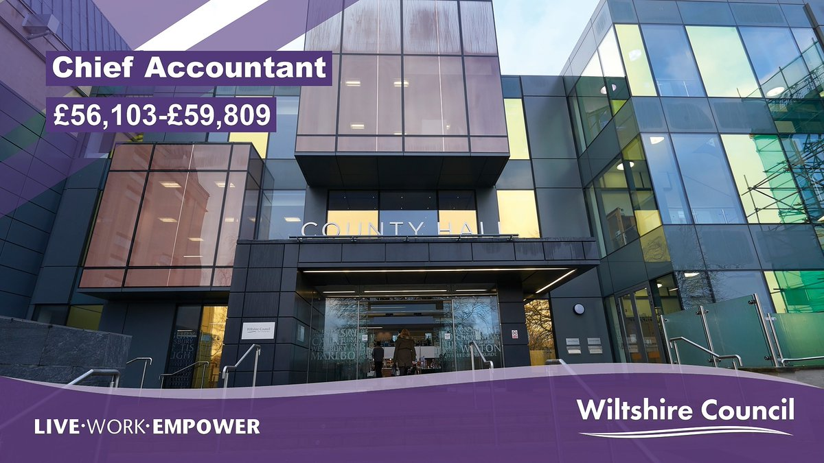 We're looking for an experienced Chief Accountant to lead our Finance team!😄   If you are fully qualified and able to demonstrate extensive management experience in a complex financial environment, take a shot and apply: https://t.co/oSNSkiHlG7  #WeAreWilts https://t.co/Fx7jiTGrAe