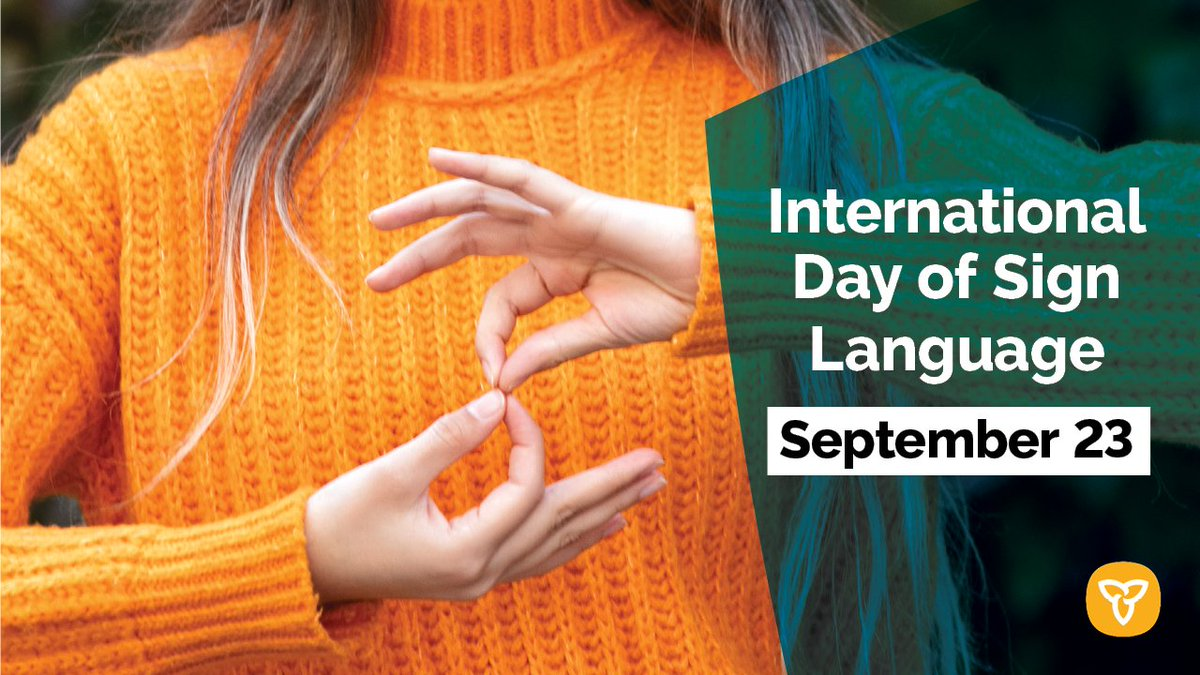On International Day of Sign Languages, we recognize the important role sign languages play in the cultural diversity & linguistic identity of all deaf people & other sign language users. DYK there are more than 300 different sign languages used worldwide? https://t.co/KajZ8dAPz8 https://t.co/3YcYlPtBbf