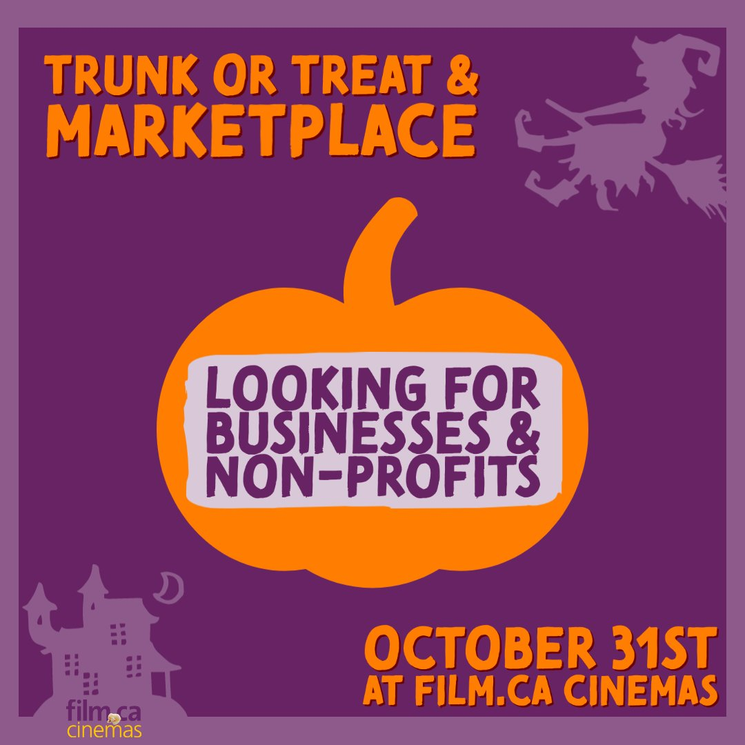 We are looking to host an outdoor, physically-distanced, and time staggered Halloween event on October 31st and we want YOUR business/non-profit in attendance 💜 🚗 Go to https://t.co/3ciyGonAhR to get more info & apply! 📝   #spookyszn #trunkotrtreat #supportlocal #oakville https://t.co/QMBqO7OM64