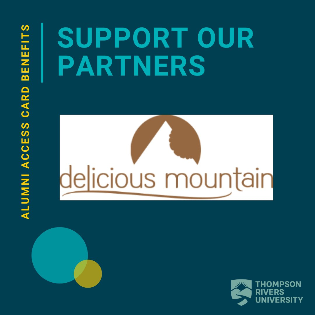 Welcome Delicious Mountain to the team of TRU Alumni Access Card Benefit Providers! Receive  10% off any accommodation package on https://t.co/Ct99ev02Fr with your Benefit Card https://t.co/a95JHf1KFF