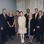 Image for the Tweet beginning: We remember when Justice #RuthBaderGinsburg