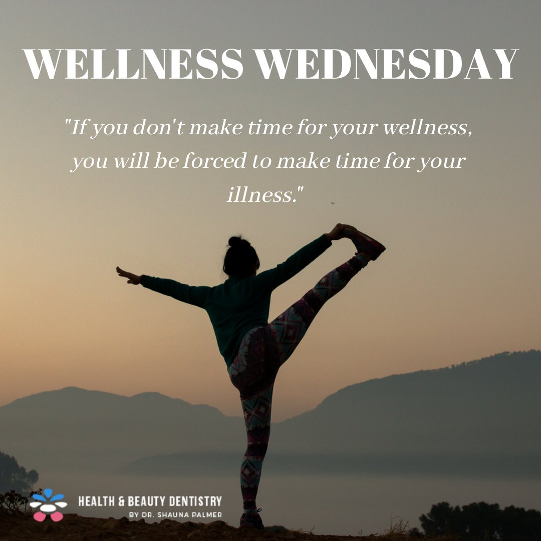 WELLNESS WEDNESDAY  Self care routines are infinite! Don't box yourself with limited ways to indulge. Even a trip to the dentist can be relaxing – we can show you how ☺️✨ . . . #DrShaunaPalmer #holisticdentistry #dentist #dentistry #fluoridefree #mercurysafe #mercuryfree https://t.co/nXQAV2xmBp