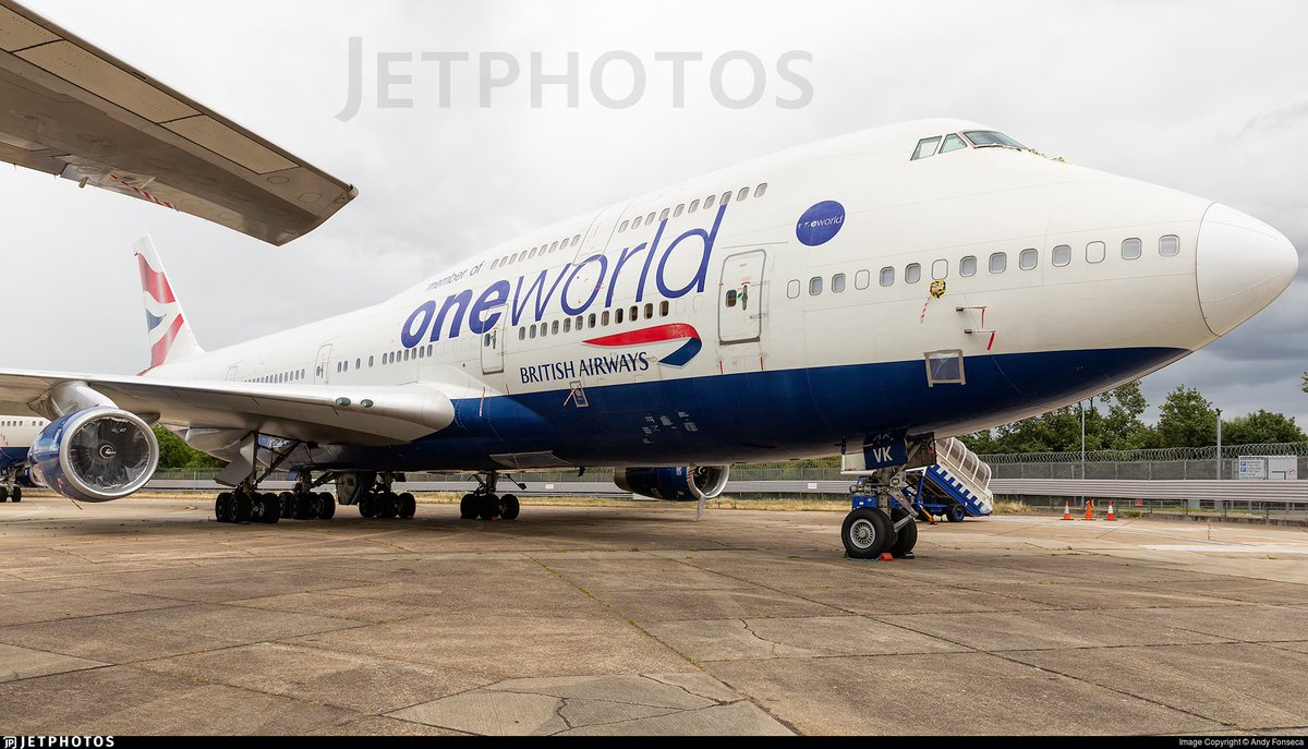 The next @British_Airways @Boeing 747-436 to leave @HeathrowAirport will be G-CIVK. See flight details below.   24SEP BA9178E B744 G-CIVK STD1200  (Destination TBC)  Any last minute changes remain likely   Photo Credit 📷 - Andy Fonseca  #aviation #avgeek https://t.co/zMh8JuA5jb