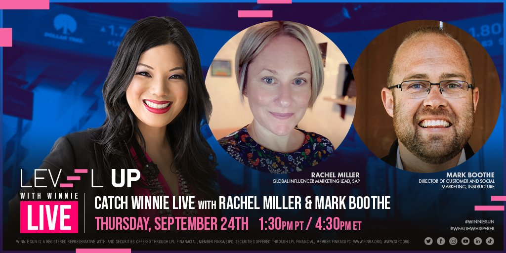 ⚠️Alerting All Entrepreneurs: #InfluencerMarketing is the NEW trend! 📈Join #WinnieSun and marketing #experts @rachelloumiller 🌟&  @markboothe💥LIVE to learn how to use Influencer Marketing to benefit  👏YOUR company! 👉🏼Join us Sept. 24 @ 1:30 PM PT / 4:30 PM ET #marketing https://t.co/NTS73rHhQ0