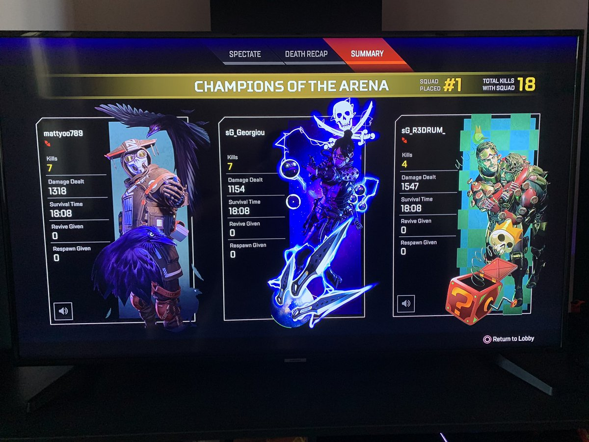 Teamwork ⚡️ #ps4games #gamer #gamerlife #gamers #squad #squadup #instagamer #instagaming #instagame #ps4 #playstation #bringthestorm #stormgaming #gaming #gamestagram #ps4community #videogames #apexlegends #apex #battleroyale #trio #winners #champions https://t.co/8fRUt3a7dP https://t.co/hR5ItIAHoh