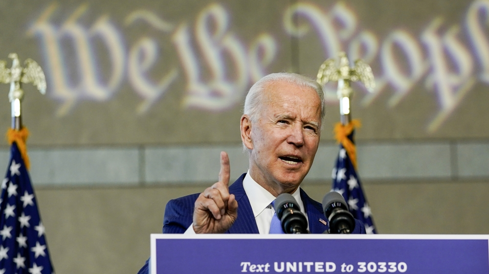 Biden blasts Trump's plan for US Supreme Court vacancy: After the death of Ruth Bader Ginsburg, Trump says he will name a nominee this week as Senators plan pre-election vote. https://t.co/x6gF8kQN3M https://t.co/Rjhwm01ut3