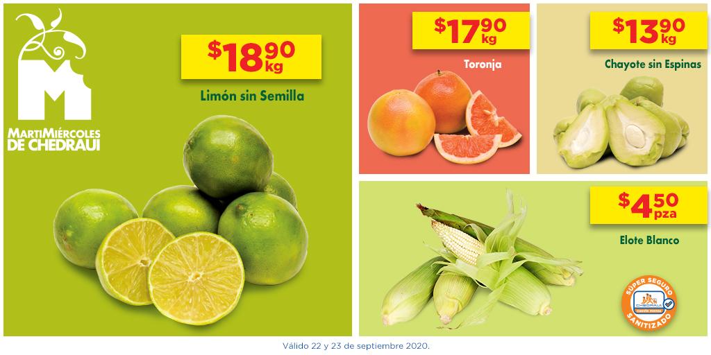 Solo en nuestro #MartiMiércoles toda la calidad que buscas en frutas y verduras #CuestaMenos. https://t.co/STVsji6oX1